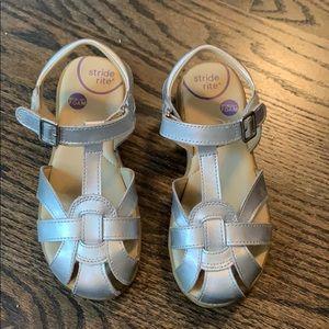 Stride Rite silver sandals size 13w